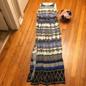 Donna Morgan printed maxi dress